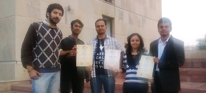 TERI University students win best project award at 'Eco Homes Building Design Competition'